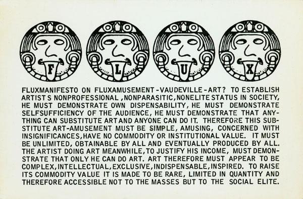 Flux-manifesto