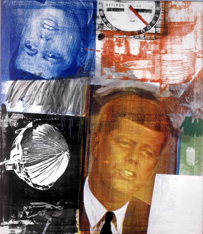 Robert Rauschenberg - Untitled, 1963